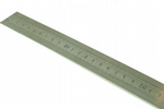 Ruler, 60cm Steel Rule Ruler, Measuring, Straight Edge, Clear Markings, 1mm Thick Steel. X1066